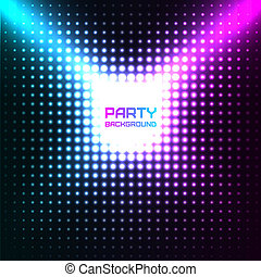 Shiny Disco Party Background Vector Design - Disco Party...