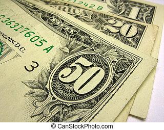 u,  s, dollari