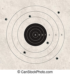 shoot target bad missing - gun shoot to the shooting target...