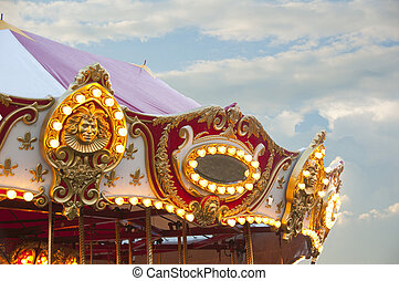 Carousel - Beautiful vintage carousel
