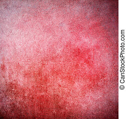 Grunge red painted background
