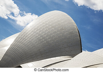 sydney opera house detail in australia