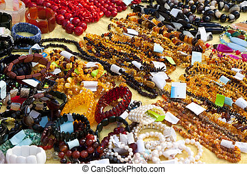 Jewelry from natural gems