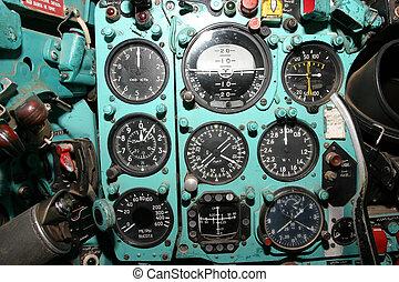 Mig-21 - Cockpit
