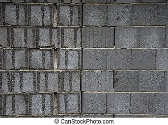 Two wall texture from grey bricks (Blocks).