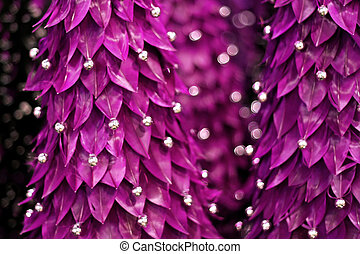 Abstract purple tree - Blurry background of abstract tree in...