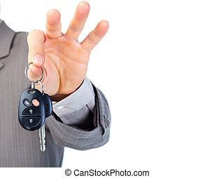voiture, clés