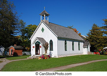 White Country Church - Little white church