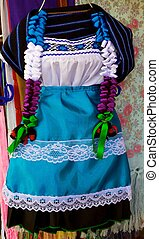 Traditional dress - A traditional colorful dress for a girl