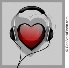 Hear your heart vector illustration