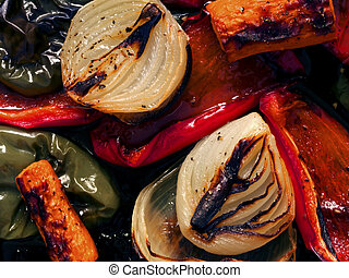 grönsaken, steket