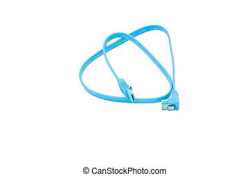 SATA cable blue