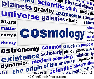 Cosmology scientific message