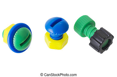 Meccano - Childrens plastic multi-coloure nut and bolt on...