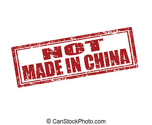 Not Made in China-stamp