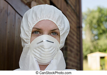 Forensic Scientist - Forensic detective on location at a...