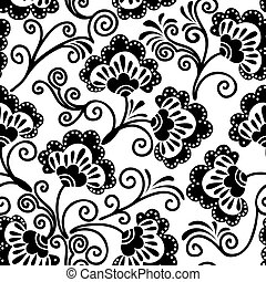 white and  black seamless background