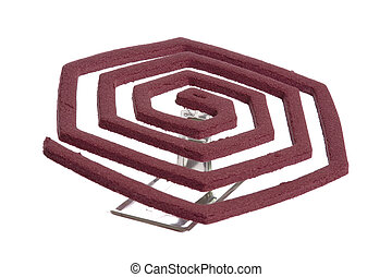 Mosquito Coil - Image of a mosquito coils.