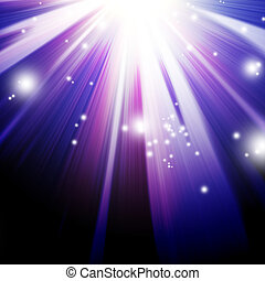 abstract background with beams of light