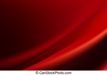 Red silk background with some soft folds and highlights...