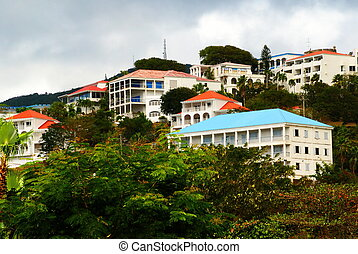 Rooftops of St. Thomas, USVI