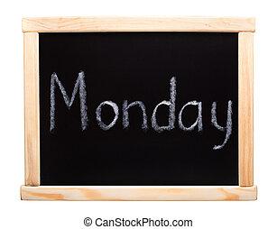 week:, giorni, lunedì