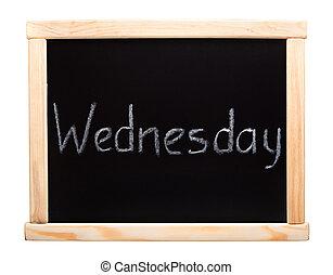 week:, giorni, mercoledì