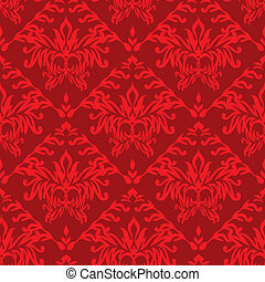 red wallpaper seamless - Red seamless repeat design...
