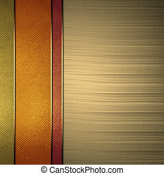 Multi-colored background from stripes, with gold background....