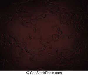 abstract red background black frame sponge paper vintage...
