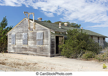 Abandoned Buildings at Historic Fort Ord Take on Ghost Town...