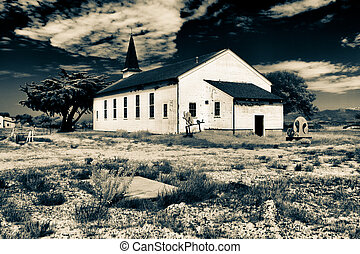 Abadoned East Garrison Chapel at Fort Ord - Abandoned East...