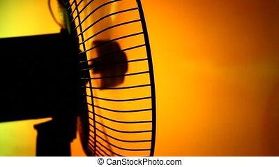Electric Fan - Electric fan in motion