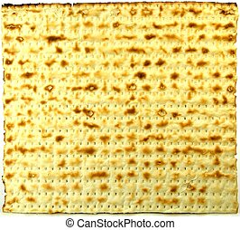 Matzo background - Matzoh - jewish passover bread