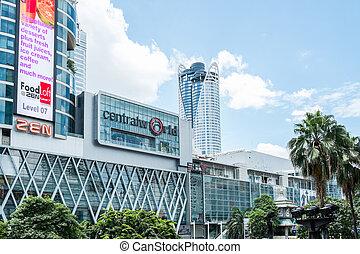 Bangkok, Thailand - AUG 29: Central World, Bangkok, Thailand...