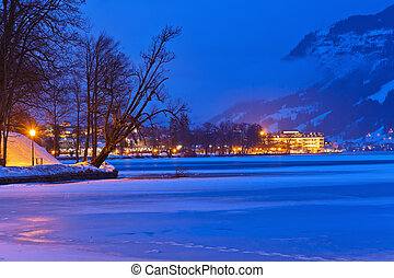 Mountains ski resort Zell am See - Austria - Mountains ski...