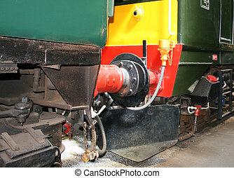buffers on a train
