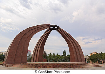 Monument of Victory - Victory Square. Memorial -...