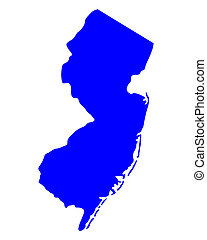 Map of New Jersey