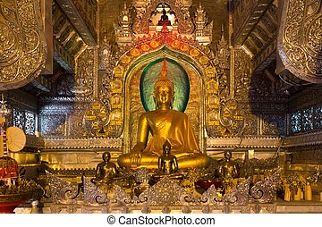 Gilded Buddhist temple