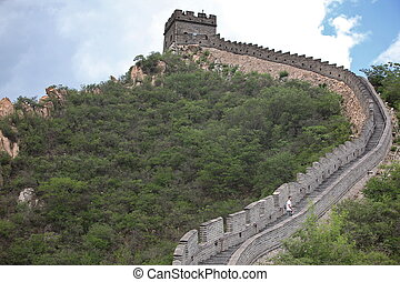 the Great Wall of China on June 12 2012 Four million people...