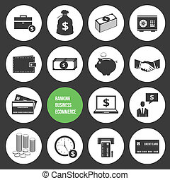 Vector Business Ecommerce Banking a