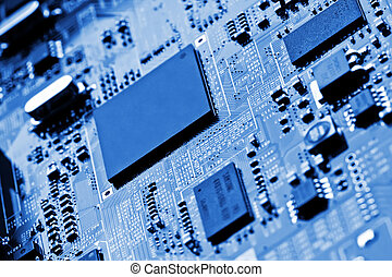 Circuit Board - Background can use the Internet, print...