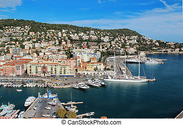 Beautiful view of Nice, France, Provence - Beautiful...
