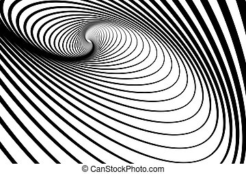 Spiral whirl movement. Abstract background. Vector art.