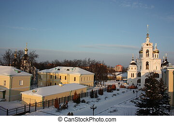 Panorama of the Dmitrov Kremlin