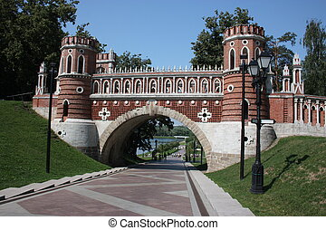 Museum Tsaritsyno Figured bridge - Moscow Museum - reserve...