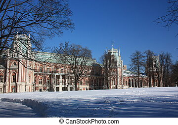 Museum Tsaritsyno Large palace - Moscow Museum - reserve...