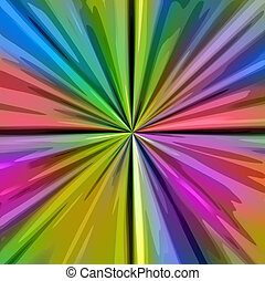 color splash pattern - texture of bright color explosion...