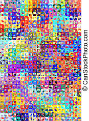 abstract bright color pattern - texture of many bright...